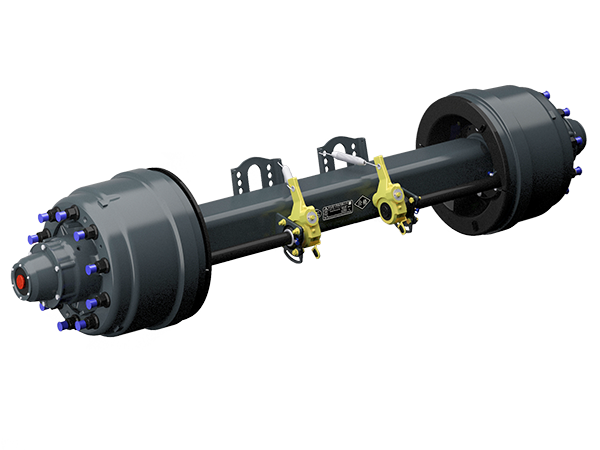 Outboard drum axle series