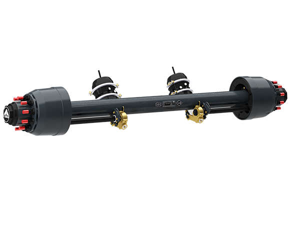 Axle manufacturers to adjust the trailer arm of th